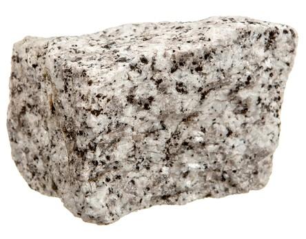 Granito, uma rocha magmática. Foto: Gyvafoto / Shutterstock.com
