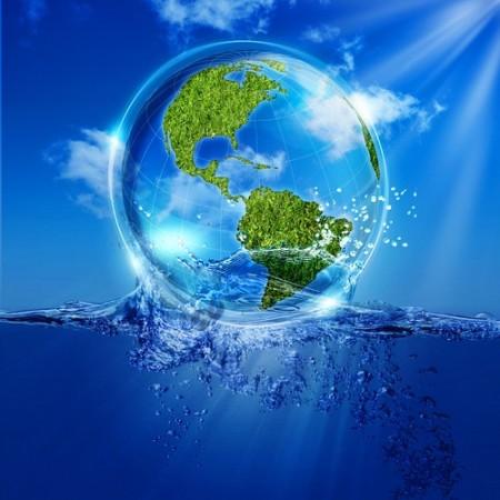 Hidrosfera. Ilustração: Ase / Shutterstock.com