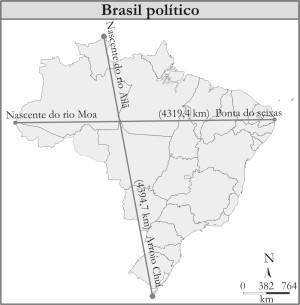 UFPB - Cartografia Pontos-extremos-brasil