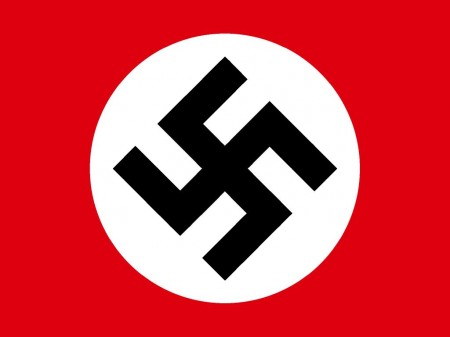 Bandeira da Alemanha Nazista.