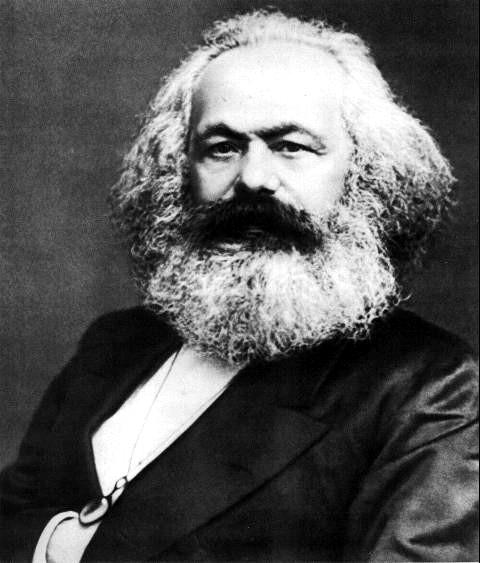 Karl Marx, formulador do materialismo histórico-dialético e fundador do socialismo científico.