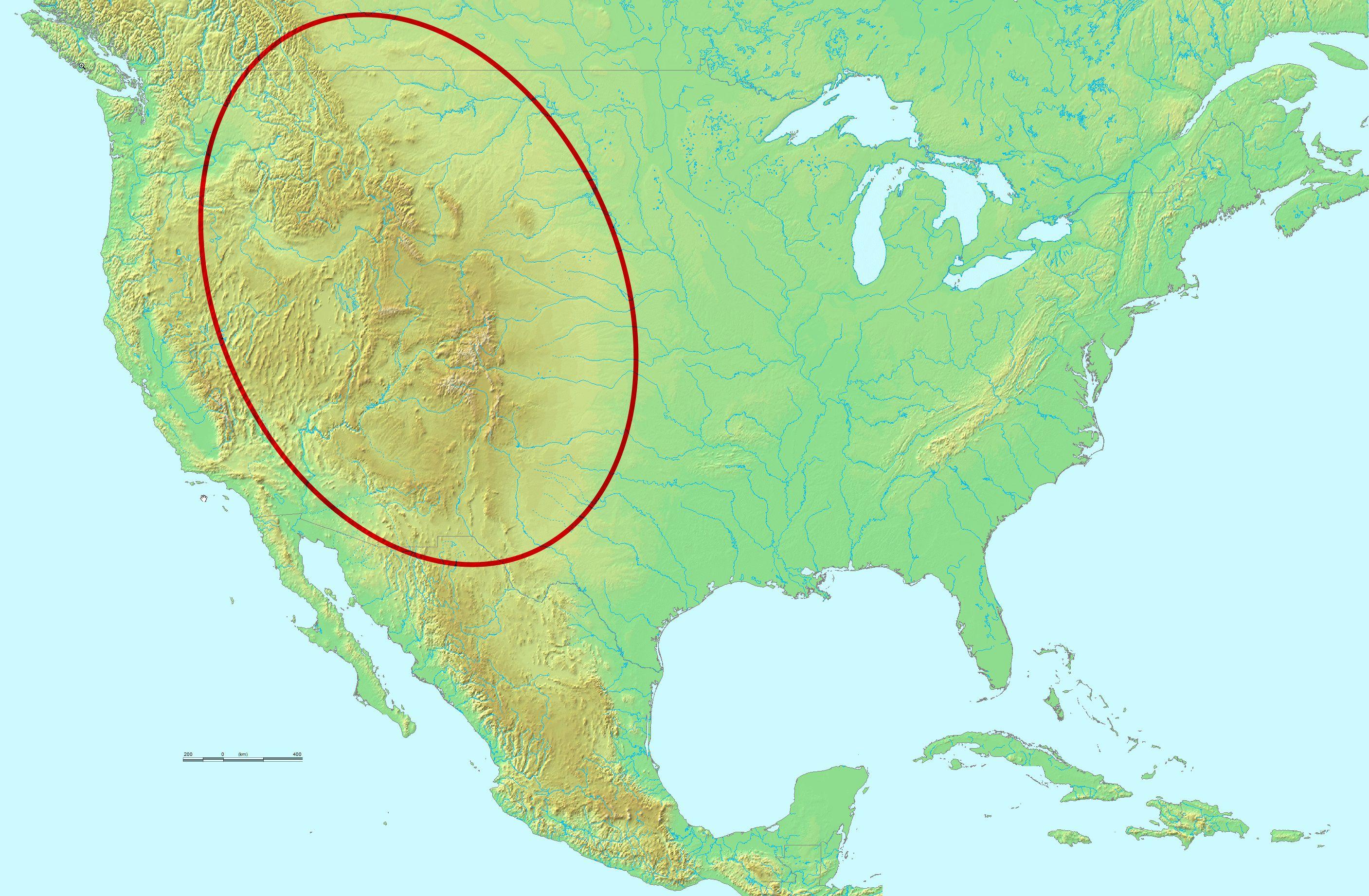Montanhas rochosas geologia infoescola - Mappa messico mappa da colorare pagina ...