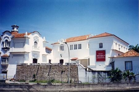 Museu Histórico Nacional no Rio de Janeiro. Foto: Carlos Luis M. C. da Cruz [domínio público], via Wikimedia Commons