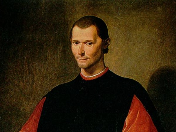 Nicolau Maquiavel. Pintura de Santi di Tito, séc. XVI.