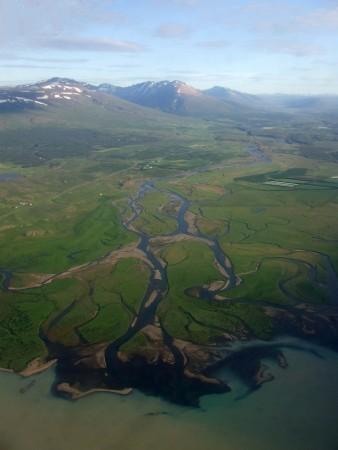 Delta de um rio na Islândia. Foto:  vyskoczilova / Shutterstock.com