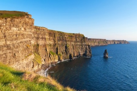 Falésia na Irlanda. Foto: Kwiatek7 / Shutterstock.com