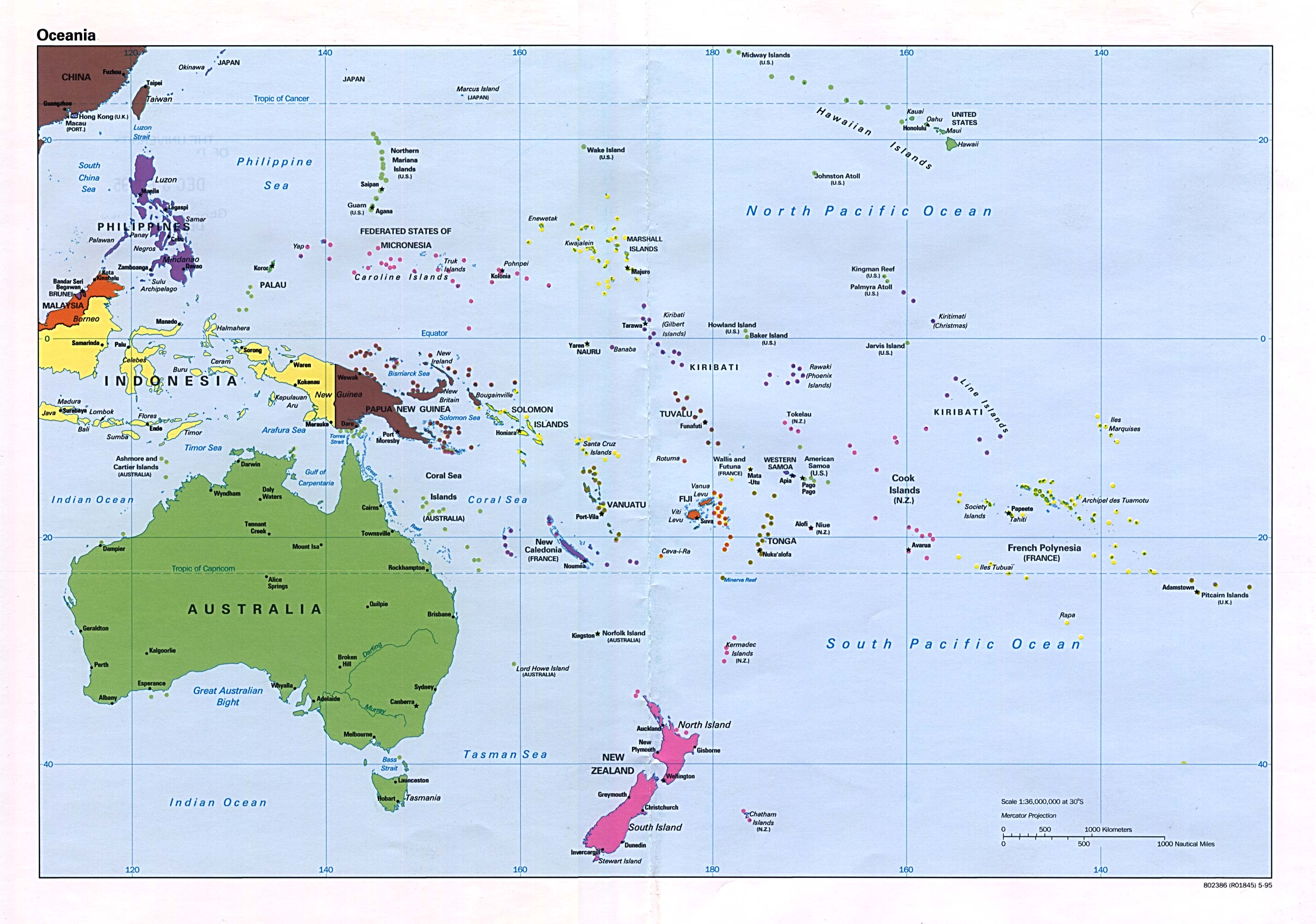 Polinesia Francesa Oceania Infoescola