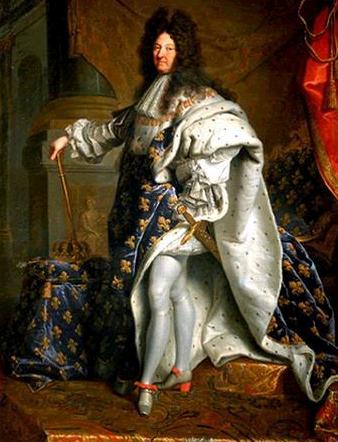 Luis XIV, o maior rei absolutista da França.