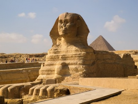Esfinge egípcia. Foto: orlandin / Shutterstock.com