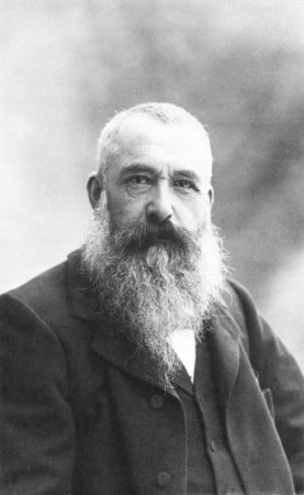 Claude Monet, em 1899. Foto de Nadar (Gaspard-Félix Tournachon). / via Wikimedia Commons