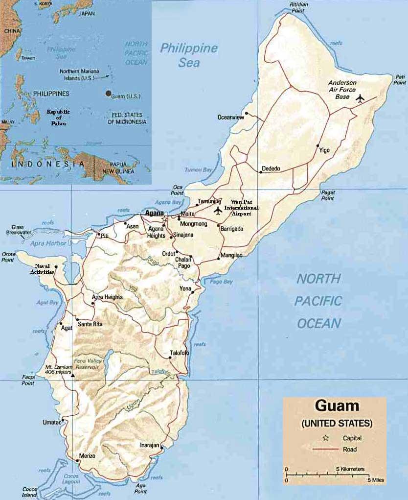 Guam - Ilha da Oceania - InfoEscola