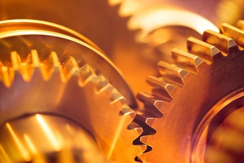 Engrenagens. Foto: nikkytok / Shutterstock.com