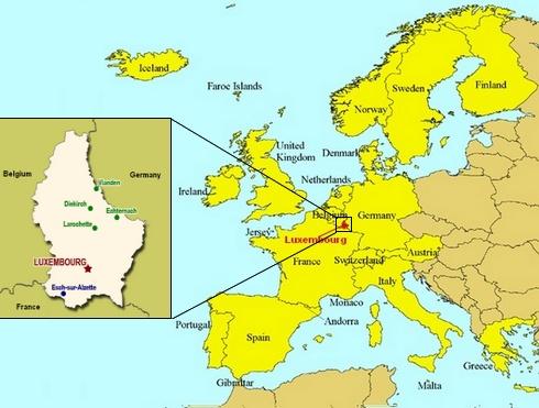mapa luxemburgo pais Luxemburgo   País da Europa   InfoEscola mapa luxemburgo pais