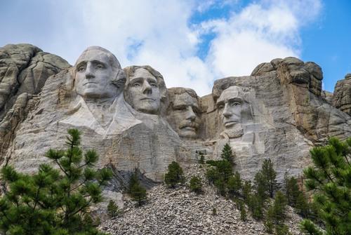 Monte Rushmore. Foto: Richard A McMillin / Shutterstock.com
