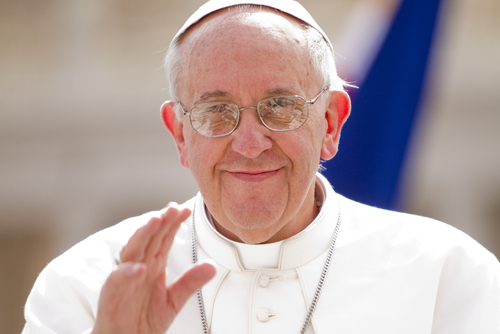 Papa Francisco. Foto: Philip Chidell / Shutterstock.com