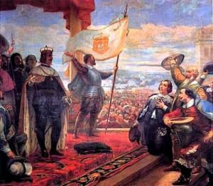 D. João IV, proclamado Rei de Portugal.