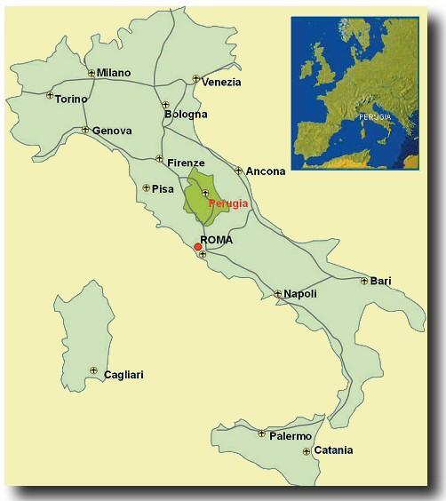 l abbondanza perugia italy map - photo#7
