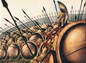 Espartanos.