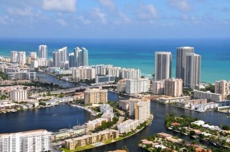 Vista aérea de Miami. Foto: Richard Cavalleri / Shutterstock.com