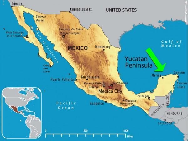 peninsula de yucatan