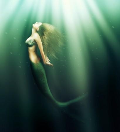Sereia. Ilustração: katalinks / Shutterstock.com
