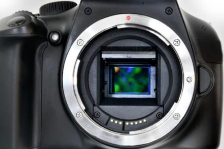 Sensor CMOS de uma câmera fotográfica. Foto: Valerio Pardi / Shutterstock.com