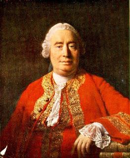 Retrato de David Hume. Pintura de Allan Ramsay, 1766.