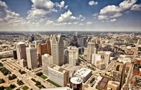 Centro de Detroit. Foto: Andrey Bayda / Shutterstock.com