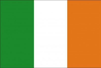 Bandeira da República da Irlanda.