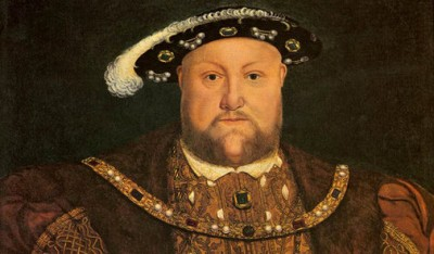 Rei Henrique VIII, que instituiu a Igreja Anglicana.
