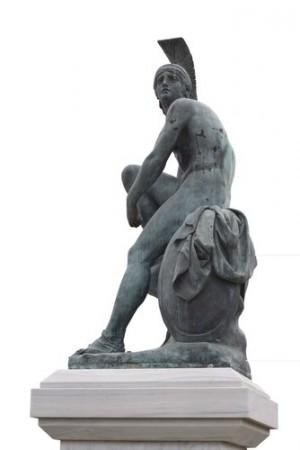 Estátua de Teseu. Foto: Brigida Soriano / Shutterstock.com