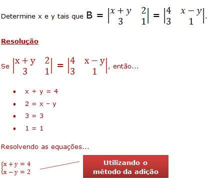 igualdade de matrizes4