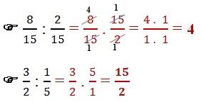 divisao fracoes numericas