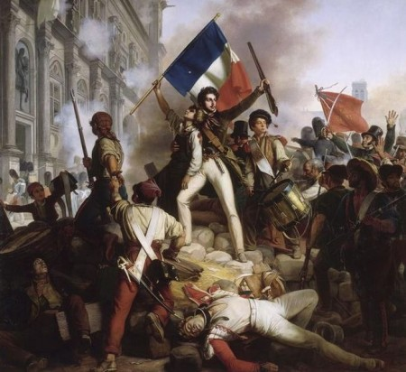 Revolução Francesa. Pintura de Jean-Victor Schnetz, 1830.