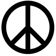 Símbolo internacional da paz.