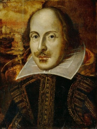 William Shakespeare. Fonte: Wikimedia Commons