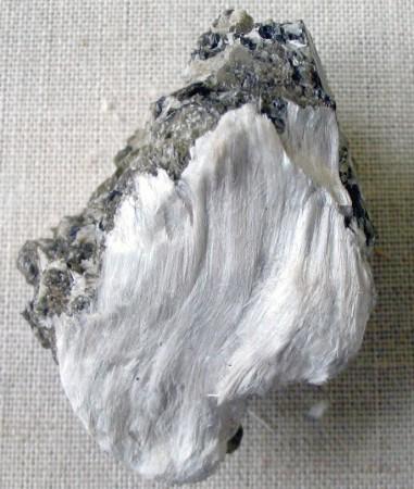 O amianto conhecido também como asbesto