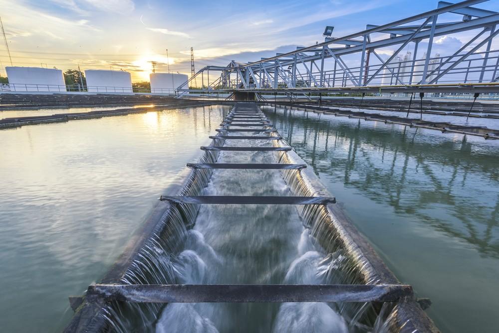 Estação de Tratamento de Água. Foto: mr.water / Shutterstock.com