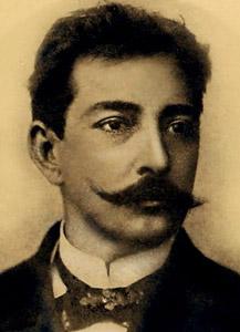 Retrato de Aluísio Azevedo. Fonte: autor desconhecido / domínio público.
