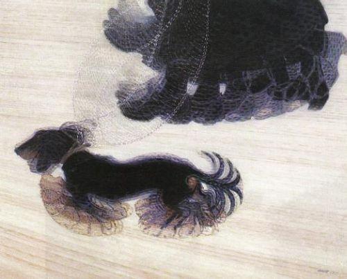 Obra futurista do artista Giacomo Balla.