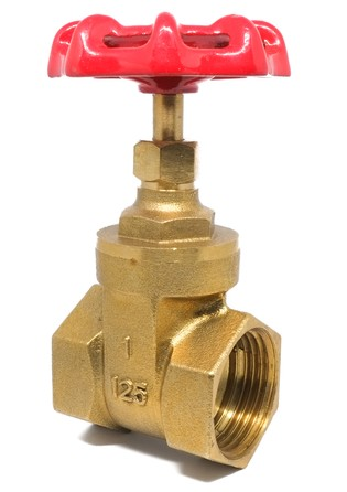 Peça de encanamento feita de bronze. Foto: psgxxx / Shitterstock.com