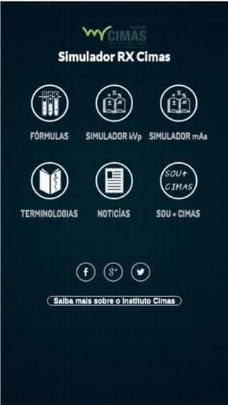 Simulador RX Cimas