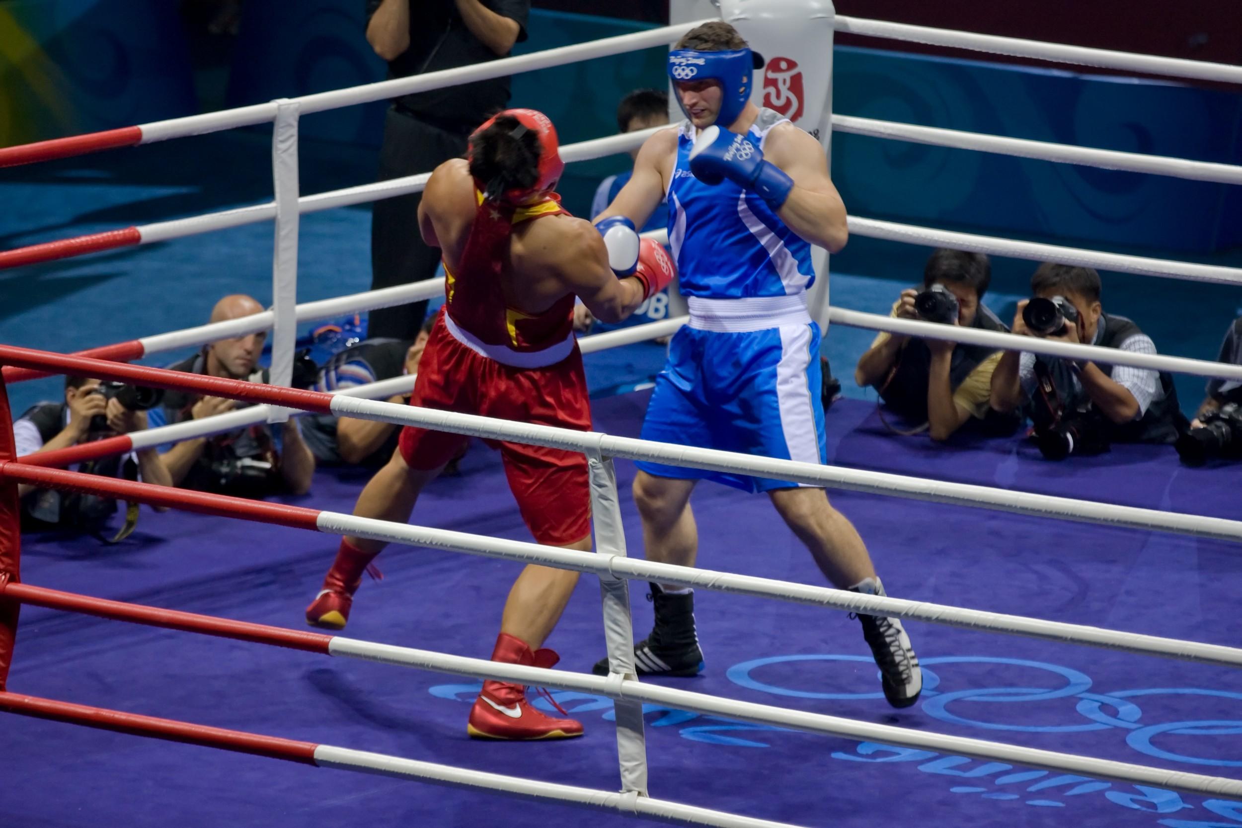689e1381e Esporte  Boxe. Foto  Pete Niesen   Shutterstock.com