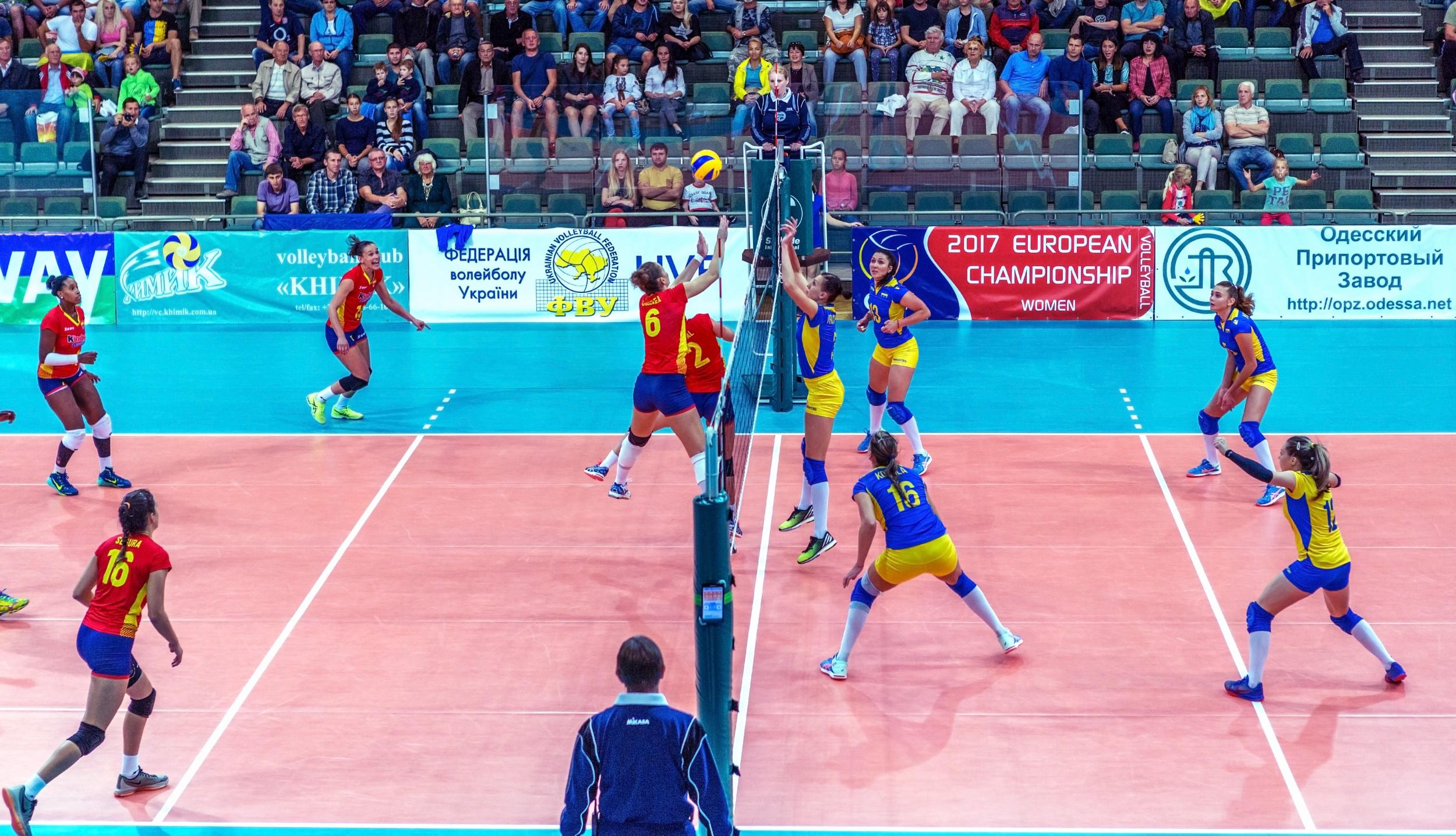 605f2975b8 Esporte  Vôlei. Foto  A Lesik   Shutterstock.com