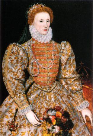 Elizabeth I da Inglaterra, 1575.