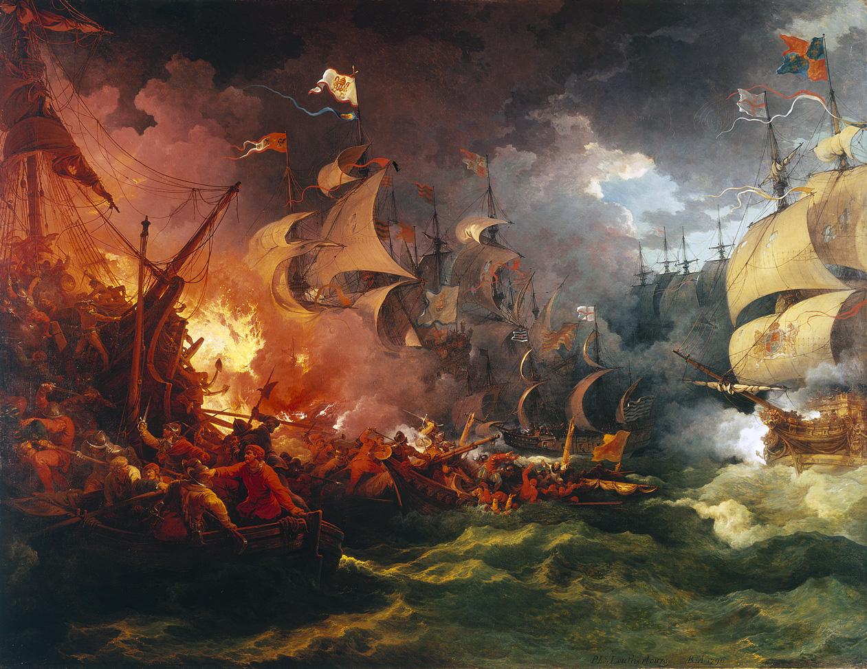 Invencível Armada derrotada