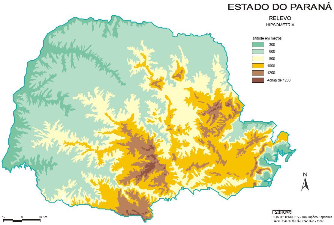 Relevo Do Parana Geografia Geologia Infoescola